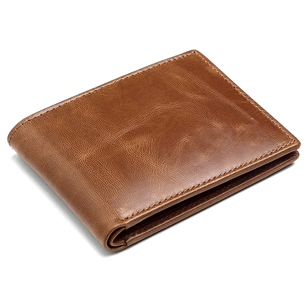 Buff Carrier Leather Wallet for Men's